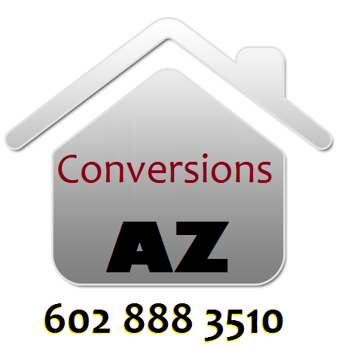 conversions in Phoenix AZ: garage, carport, attic, porch, patio
