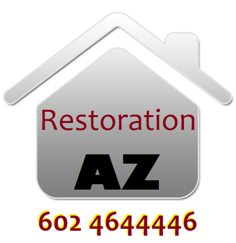 restoration & damage repair in Phoenix, Arizona: fire, water, flood, storm, hail, smoke, roof in AZ
