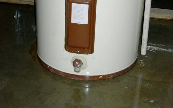 how water heater leak repairs