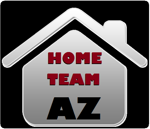 logo for HomeTeamAZ in Phoenix: roofing, renovation, remodeling, restoration, & more